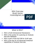 MDX Intro