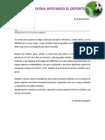 Oficio de Solicitud de Canchas Docx