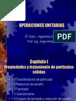 Operaciones Unitarias - Clases
