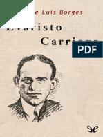 Borges Jorge Luis - Evaristo Carriego