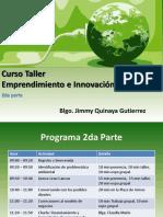 Curso Taller Emprendimiento e Innovacion Ambiental 2da Parte