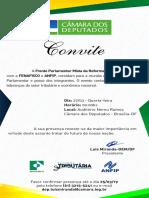 Convite Frente Parlamentar Mista Reforma Tributária
