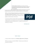 Generalidades de Un Sistema ERP Como SAP
