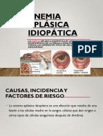 Anemia Aplásica Idiopática