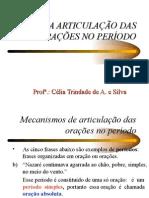 Português PPT - Articulações das Orações