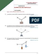 Ejercicios Nº2 _ Equilibrio Particula