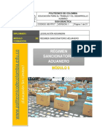 m2-Fr17 Guia Didactica-legislacion Aduanera Módulo 5