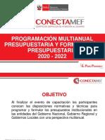 Programación Multianual 2020-2022