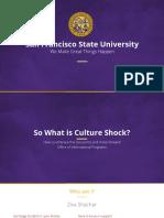 sfsu culture shock presentation  1