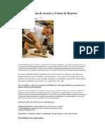 Estandarización de recetas y Costeo de Recetas