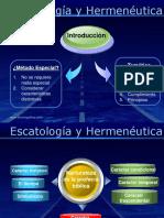 Presentación Escatología y Hermenéutica (2)