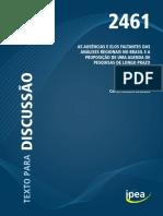 As Ausências e Elos Faltantes das Análises Regionais no Brasil e a Proposição de uma Agenda de Pesquisas de Longo Prazo