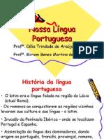 Português PPT - História da Língua Portuguesa