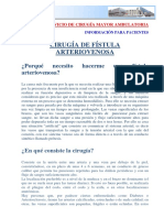 Cirugia de Fístula Arteriovenosa 1final[1]
