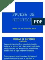 Introducción a las Pruebas de Hipótesis
