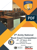 Brochure Amity Moot Court Competition
