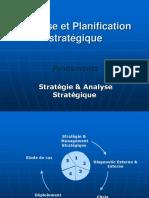Analyse Et Planification Stratégique