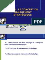 Concept Du Management Stratégique