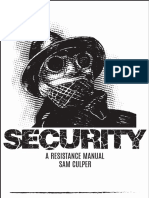 Sam Culper - Security a Resistance Manual
