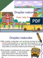 Português PPT - Orações Reduzidas