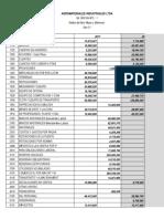 Balance Gral - Estado de Resultado y Flujo de Efectivo de Agromateriales Industriales Ltda