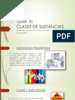 Tema 11 Clases de Sustancias