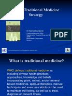 WHO Traditional Medicine