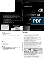Julie Moore - Common Mistakes at CPE-Cambridge University Press