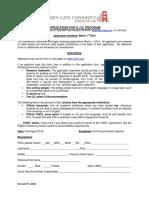 Fall 2019 SJD Application