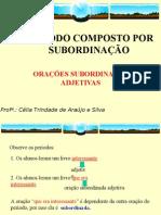 Português PPT - Período Composto Subordin