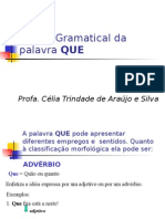 Português PPT - Que