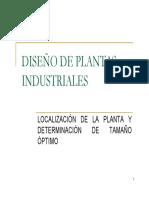 Tamaño y Localizacion de Plantas(1)