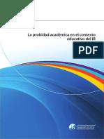 La probidad academica en el contexto educativo del IB.pdf