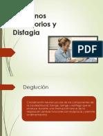 trastorno deglución