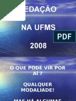 Português PPT - Redação 2008