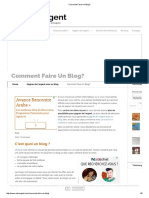 Comment Faire Un Blog