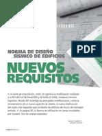 Nuevos Requisitos Norma Diseño Sismico 22951-2