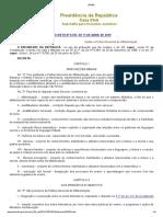 Decr 9765-19 - Política Nacional de Alfabetização