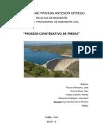 Proceso Constructivo - Presas 2