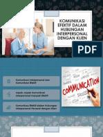 Komunikasi Efektif Dalam Hubungan Interpersonal Dengan Klien