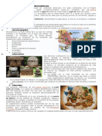 Características de La Región Mesoamericana