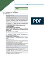 Rúbrica Evaluación DDR7501