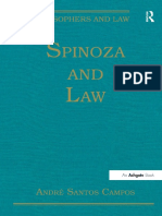 Spinoza and Law