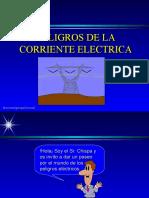 Peligro Corriente en Electrica
