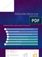 Resolución No. 3280 de 20183280