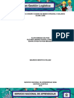 Evidencia 18.3 Diseño de Cuadro de Mando Integral