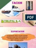 Exportacion l Trupal