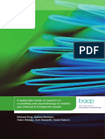 BACP A Systematic Review of Research on Counselling and Psychotherapy for LGBT People