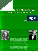 Literatura Comparada - J.L Borges e Perec