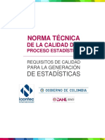 NTC Proceso Estadistico